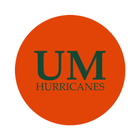 "University of Miami 1-1/2"" Labels"