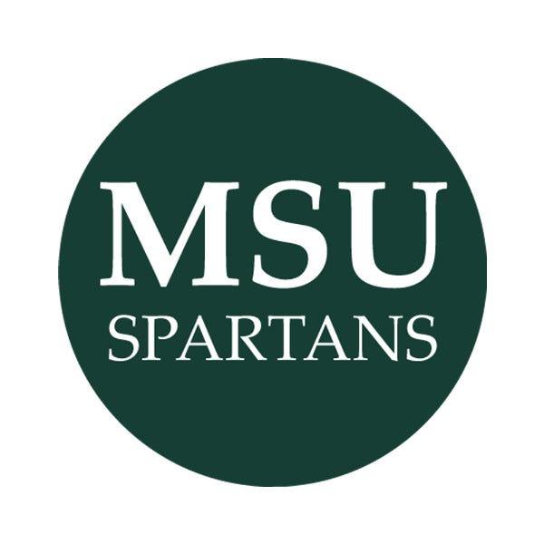 "Michigan State University 1-1/2"" Labels"