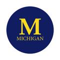 "University of Michigan 1-1/2"" Labels"