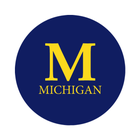 "University of Michigan 1-1/2"" Labels"