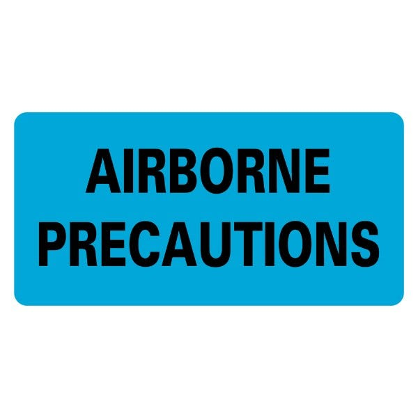 AIRBORNE PRECAUTIONS Infection Control Medical Labels