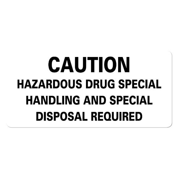 Hazardous Drug Special Handling and Special Disposal Required