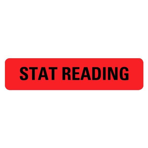 STAT READING Medical Labels