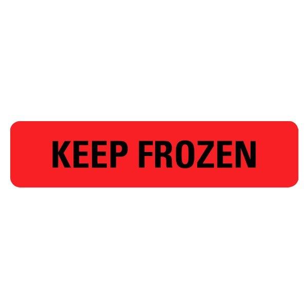 KEEP FROZEN Medical Labels