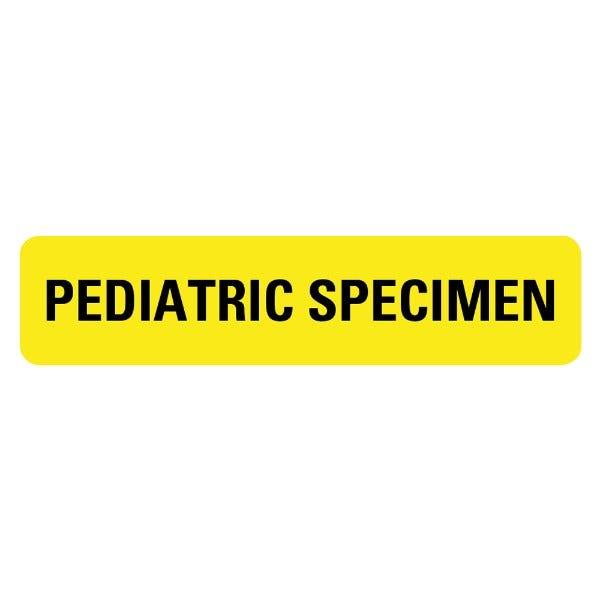PEDIATRIC SPECIMEN Medical Labels