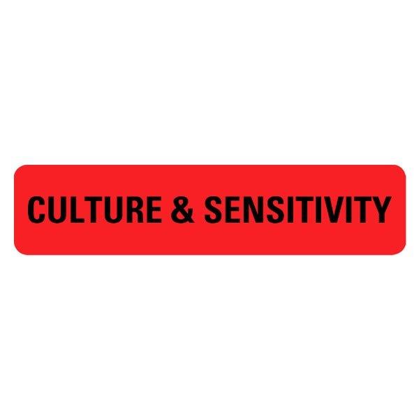 CULTURE and SENSITIVITY Medical Labels
