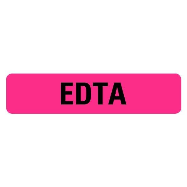 EDTA Medical Labels