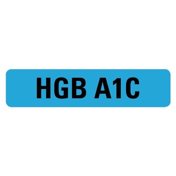 HGB A1C Medical Labels