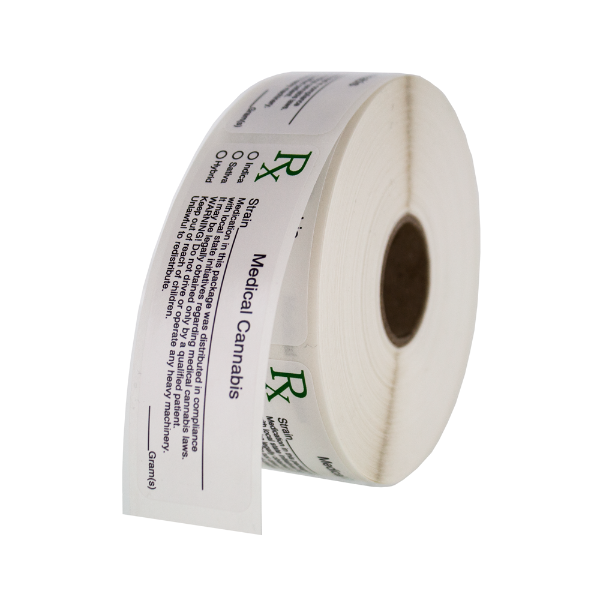 Generic Dymo Compatible Medical Cannabis Rx Labels