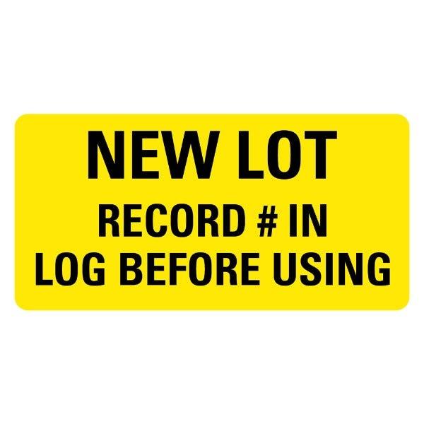 NEW LOT Medical Labels