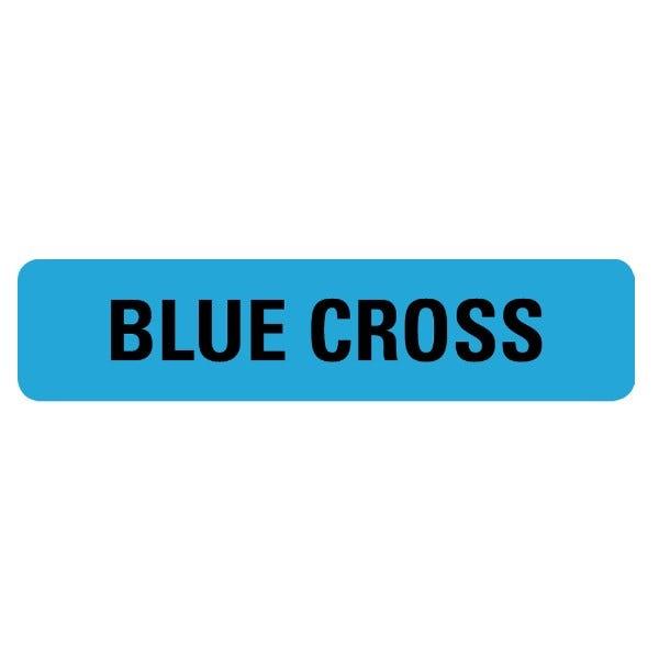 BLUE CROSS Medical Labels