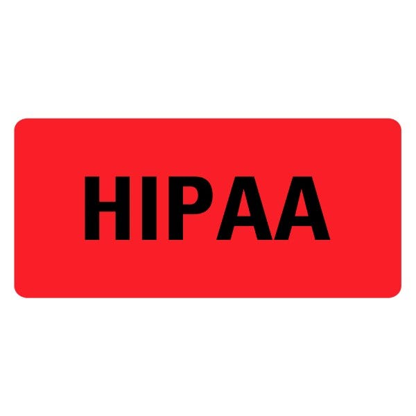 HIPAA Medical Records Labels