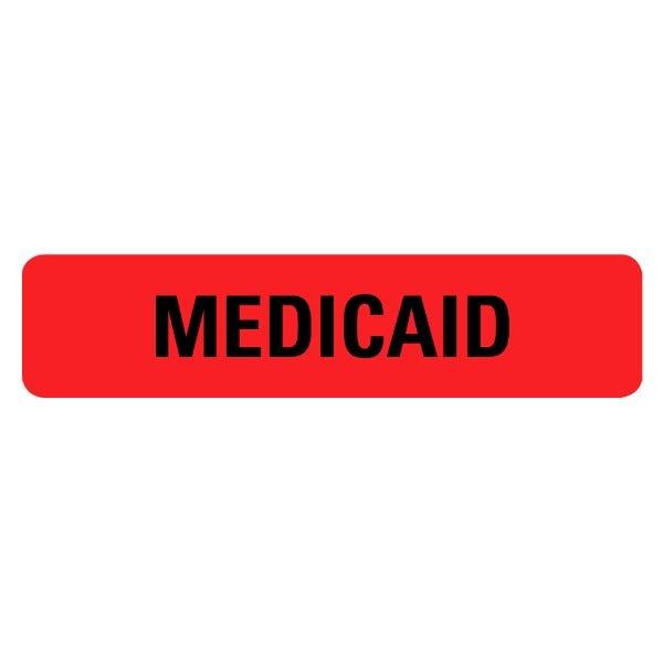 MEDICAID Medical Labels