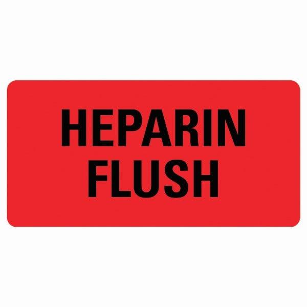 HEPARIN FLUSH Medical Labels
