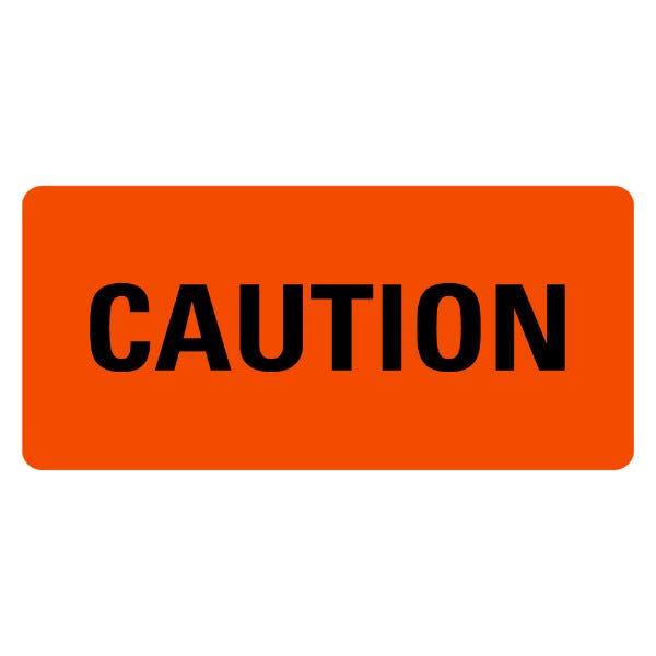 Caution Medical Labels