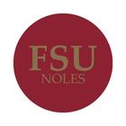 "Florida State University 1-1/2"" Labels"