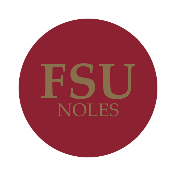 "Florida State University 1-1/2"" Labels"
