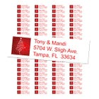 Oh Christmas Tree Return Address Labels