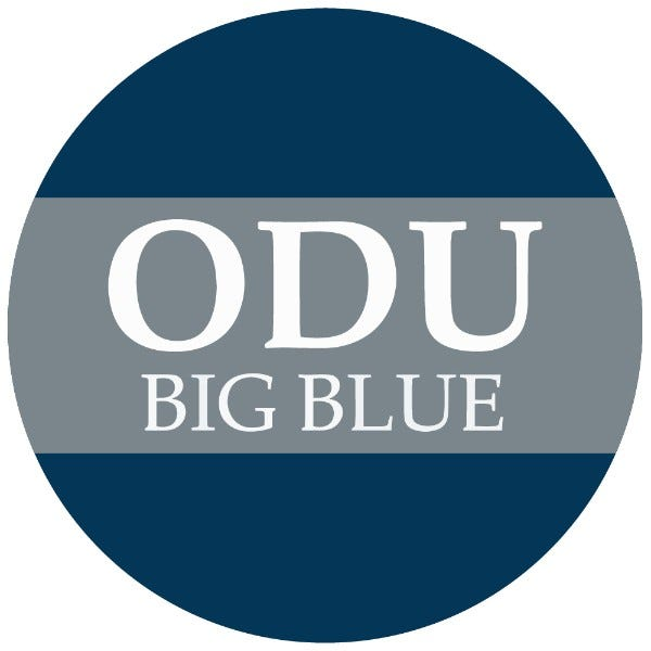 """Old Dominion University 1-1/2"""" Labels"""