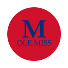 "University of Mississippi 1-1/2"" Labels"