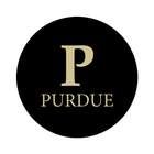 "Purdue University 1-1/2"" Labels"
