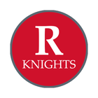 """Rutgers University 1-1/2"""" Labels"""