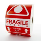 Fragile Liquid This Side Up Labels