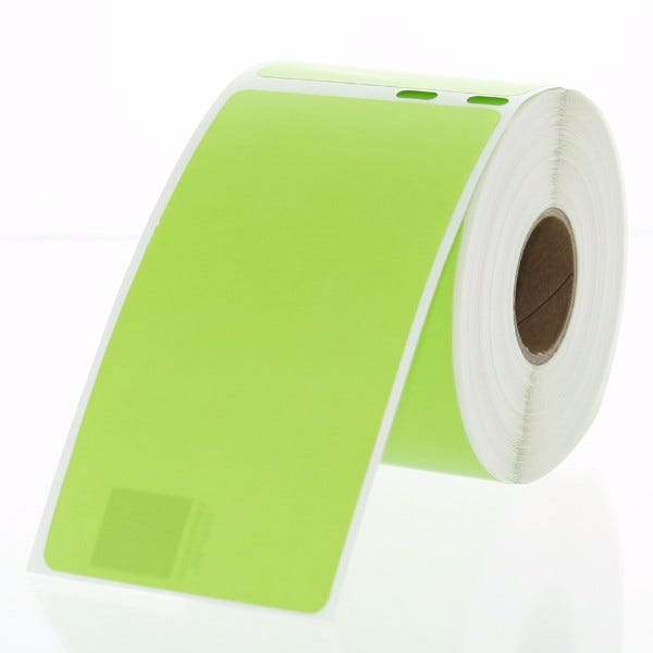 Dymo LV-30323 Green Compatible Shipping Labels