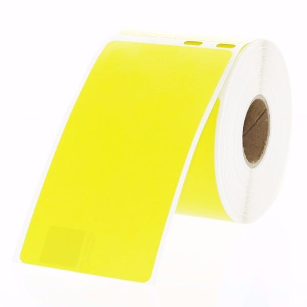 Yellow Shipping Labels for Seiko SLP