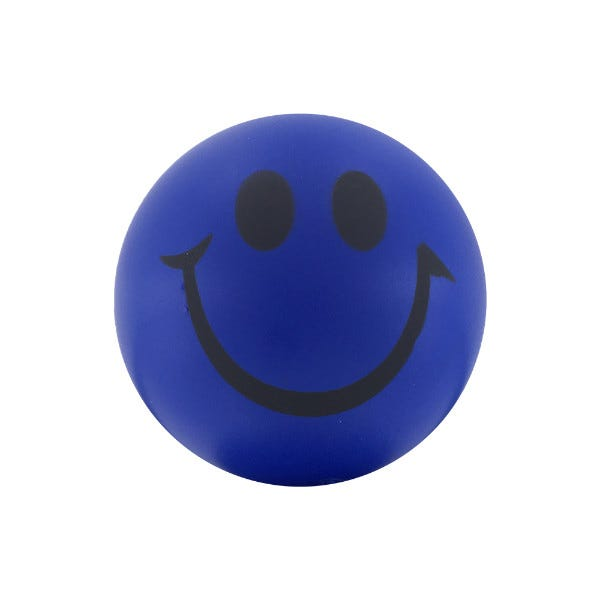 LabelValue.com Smiley Face Ball
