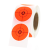 """1"""" Fluorescent Red Shooting Target Spots"""