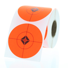 """2"""" Fluorescent Red Shooting Target Spots"""
