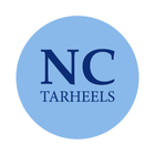 "University of North Carolina 1-1/2"" Labels"