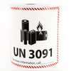UN 3091 Lithium Battery Handling Labels