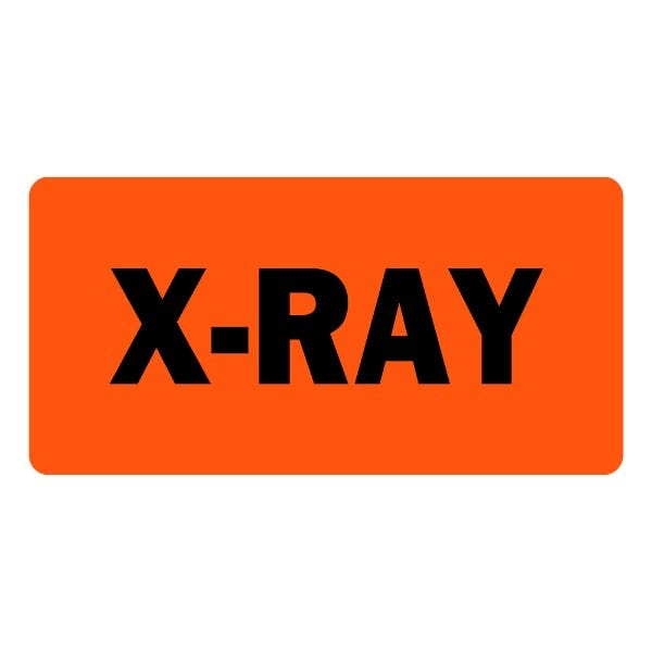 X-Ray Veterinary Labels
