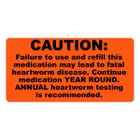 Heartworm Medication Year Round Warning Veterinary Labels