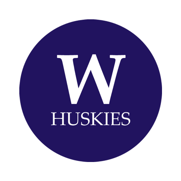 """University of Washington 1-1/2"""" Labels"""