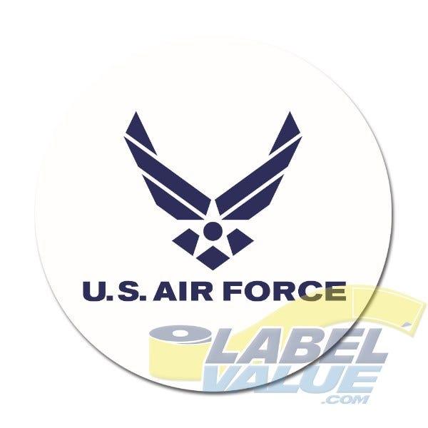 "U.S. Air Force Labels 1-1/2"""