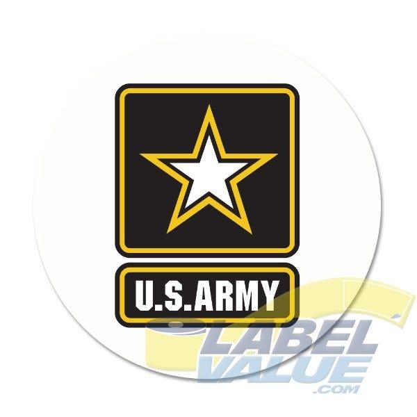 "U.S. Army Labels 1-1/2"""