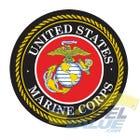 "U.S. Marine Corps Labels 1-1/2"""