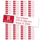 Rutgers University Custom Return Address Labels