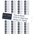 University of California San Diego Custom Return Address Labels