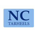 University of North Carolina Tar Heels Custom Return Address Labels