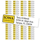 University of Iowa Custom Return Address Labels