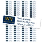 University of West Virginia Custom Return Address Labels