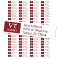 Virginia Tech University Custom Return Address Labels