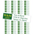 College of William and Mary Tribe Custom Return Address Labels