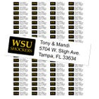 Wichita State Custom Return Address Labels
