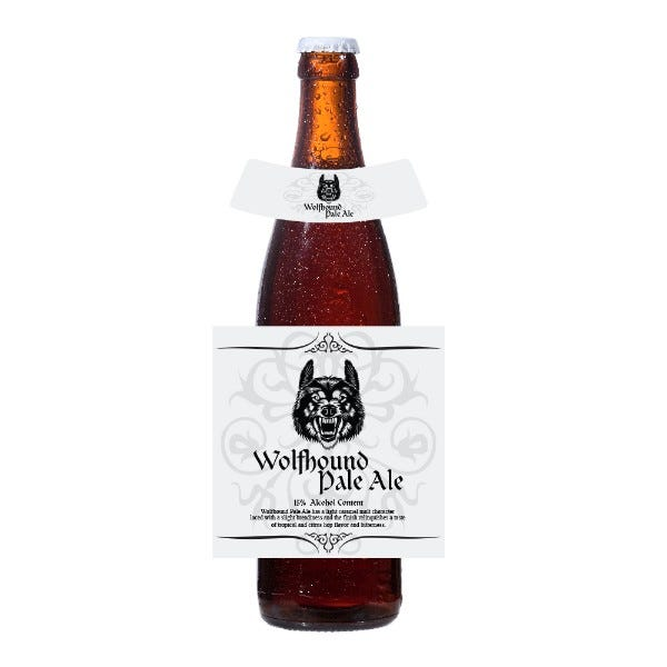 Custom Bottle Labels with Neck Label
