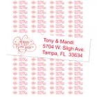 Happy New Year Return Address Labels